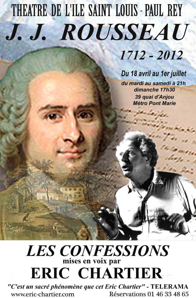 """Rousseau : """"Les Confessions"""""""