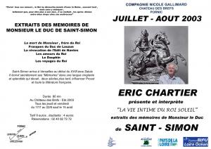 "Saint-Simon : ""La vie intime du Roi Soleil"""